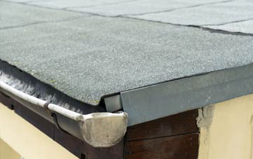 repair or replace Greeny flat roofing?